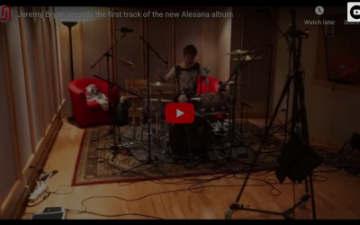Jeremy Bryan Records First Song Of New Alesana Album