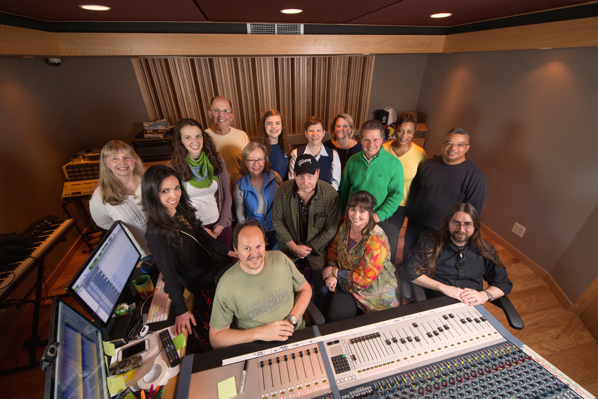 UNC Rex Records Lullaby Project at Bunker Sound Studio